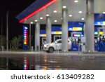 the atmosphere lighting blurred ... | Shutterstock . vector #613409282