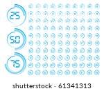 progress indicator | Shutterstock .eps vector #61341313