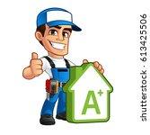 vector illustration of an...   Shutterstock .eps vector #613425506