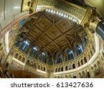 budapest  hungary   march 24... | Shutterstock . vector #613427636