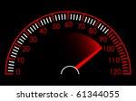 speedometer | Shutterstock .eps vector #61344055