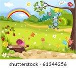 forest | Shutterstock .eps vector #61344256