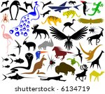 collection of editable vector... | Shutterstock .eps vector #6134719