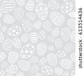 Easter Egg Seamless Pattern....