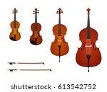 vector illustration of strings...