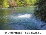 river at antalya turkey | Shutterstock . vector #613563662