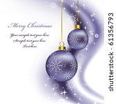 christmas background.... | Shutterstock .eps vector #61356793