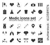 medic  medicine  health care... | Shutterstock .eps vector #613589576
