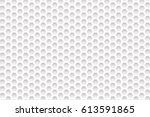 double hexagon background | Shutterstock .eps vector #613591865