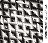 abstract zigzag parallel... | Shutterstock .eps vector #613614665