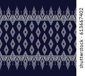 geometric ethnic pattern...   Shutterstock .eps vector #613667402