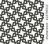 seamless vector pattern with... | Shutterstock .eps vector #613704512