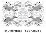 conceptual polygonal brain with ...