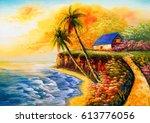 Oil Painting   Seacoast