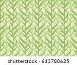 corn field seamless pattern | Shutterstock .eps vector #613780625