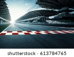 circuit road | Shutterstock . vector #613784765