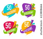promotional sale  vector...   Shutterstock .eps vector #613808666