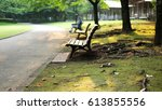 bench | Shutterstock . vector #613855556