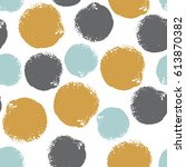 colorful grunge seamless...   Shutterstock .eps vector #613870382