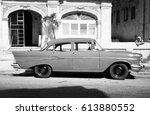 havana  cuba   february 24 ... | Shutterstock . vector #613880552