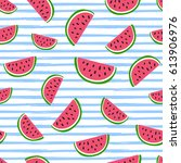 seamless background with...   Shutterstock .eps vector #613906976