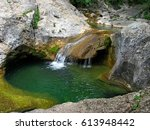 the natural landscape of the...