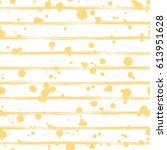 seamless pattern  yellow tile... | Shutterstock . vector #613951628