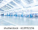 abstract blur garage and... | Shutterstock . vector #613952156