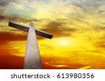 holy cross | Shutterstock . vector #613980356