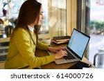 smiling attractive good looking ...   Shutterstock . vector #614000726
