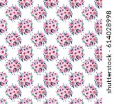 floral elegant wonderful...   Shutterstock . vector #614028998