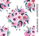 bright elegant sophisticated... | Shutterstock . vector #614029022