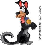 Friendly Fun Black Dog
