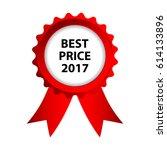 special red badge  best price... | Shutterstock .eps vector #614133896
