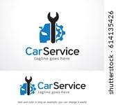 car service logo template | Shutterstock .eps vector #614135426