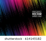 festive comic diagonal dash... | Shutterstock .eps vector #614145182