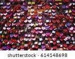 verona italy   march 31  2017... | Shutterstock . vector #614148698
