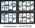 abstract vector business... | Shutterstock .eps vector #614175518