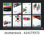 abstract vector business...   Shutterstock .eps vector #614175572