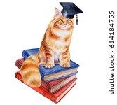 Scientist's Cat. Books....
