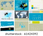 modern business background  ... | Shutterstock .eps vector #61424392