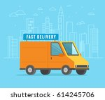vector illustration in flat... | Shutterstock .eps vector #614245706