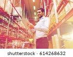 wholesale  logistic  business ... | Shutterstock . vector #614268632