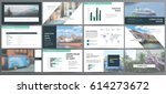 presentation templates. use in...   Shutterstock .eps vector #614273672