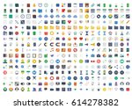 web icons | Shutterstock .eps vector #614278382