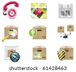 vector shopping icon set and...