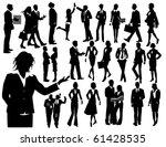 business people   Shutterstock .eps vector #61428535