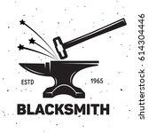 Vintage Blacksmith Labels And...