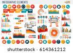 business and shopping... | Shutterstock .eps vector #614361212