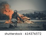 military war     military squad ... | Shutterstock . vector #614376572